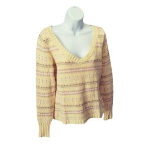 American Eagle Outfitters Sweater V Pullover L